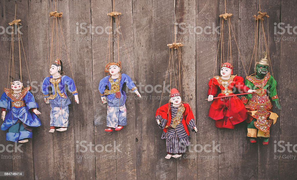 puppetry stock photo