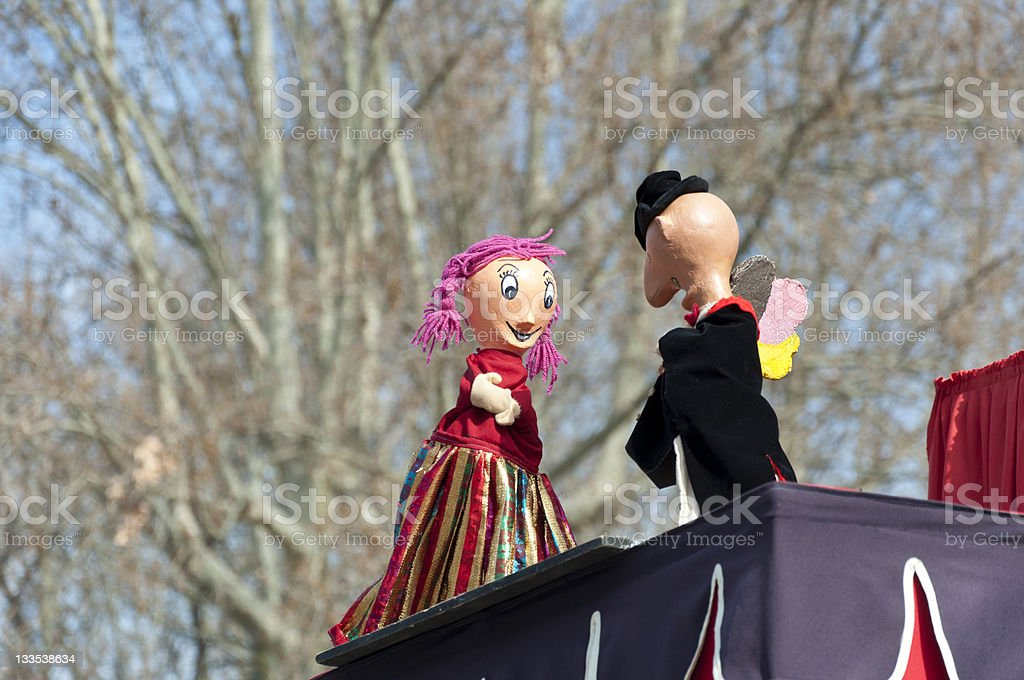 Puppets stock photo