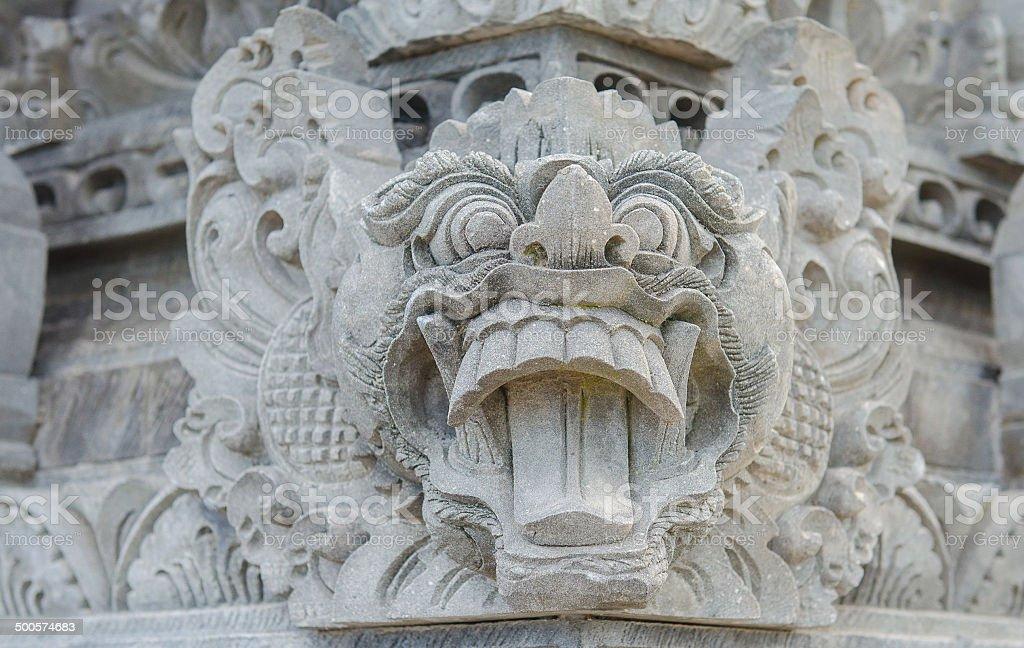 Pura Batu Bolong temple in Lombok stock photo