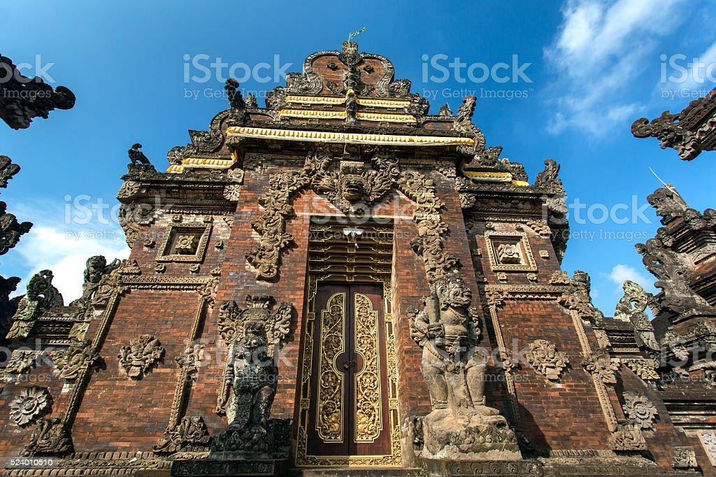 Pura Besakih temple, Bali, Indonesia stock photo
