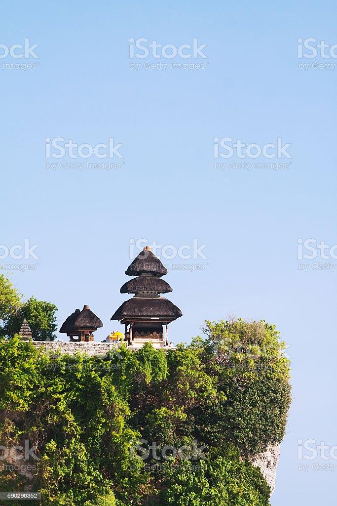 Pura Luhur Uluwatu Temple Стоковые фото Стоковая фотография