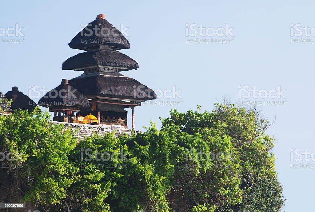 Pura Luhur Uluwatu Temple royaltyfri bildbanksbilder