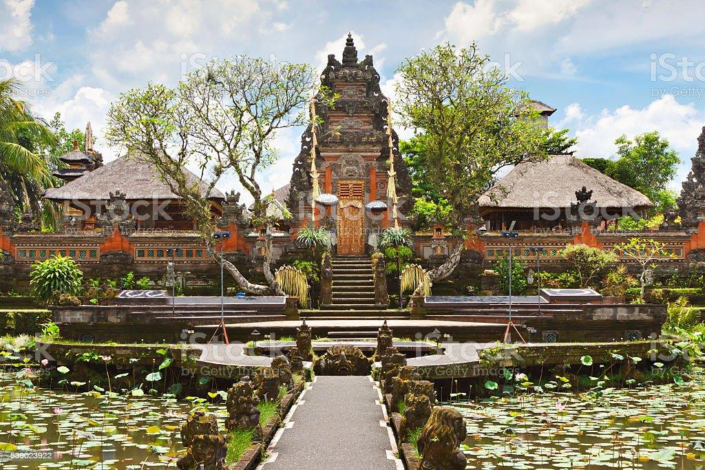 Pura Saraswati temple stock photo