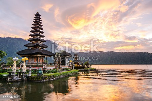 istock Pura Ulun Danu Bratan at Bali, Indonesia 477707492