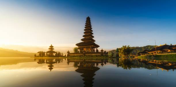 Pura Ulun Danu Bratan Bali Indonesien – Foto