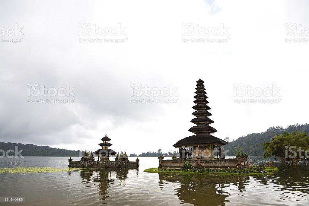 Pura Ulun Danu Bratan royalty-free stock photo
