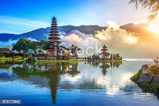 istock pura ulun danu bratan temple in Bali. 675172642