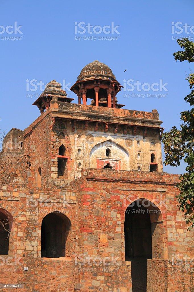 Purana Qila royalty-free stock photo