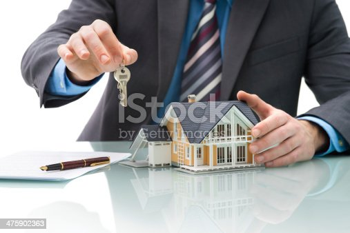 istock Purchase agreement for house 475902363
