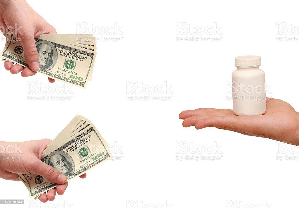 Kauf und Verkauf von Medizin – Foto
