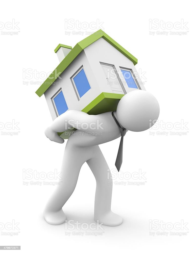 Purchase - sale of real estate stock photo