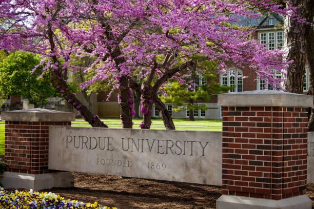 Purdue University stock photo