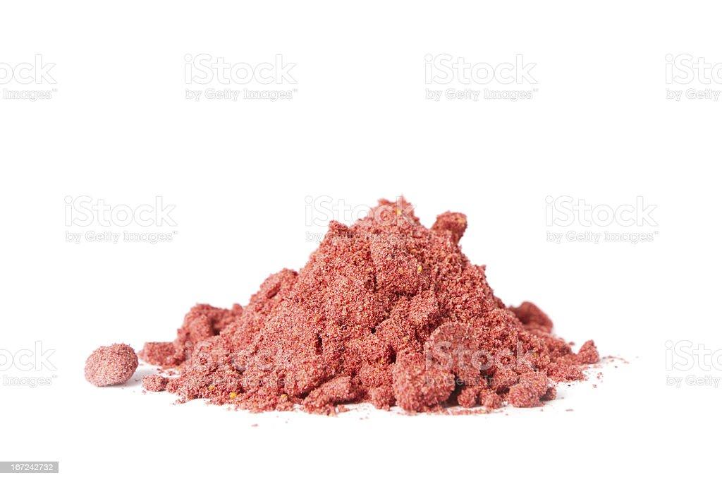 Pure and Organic Fruit Powder stock photo