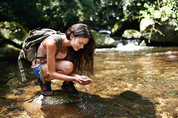 pure とリフレッシュ - 自然旅行 ストックフォトと画像