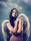 istock Pure angelic beauty 521618257