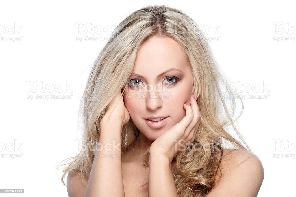 Pure beauty royalty-free stock photo