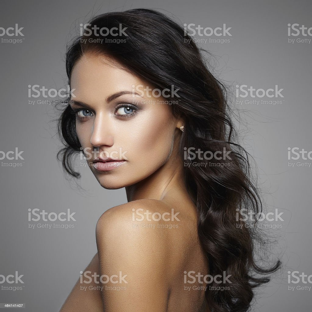 Pure beauty stock photo