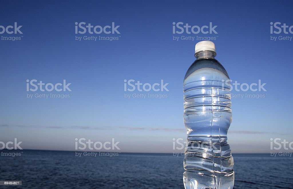 Pure Blue Water stock photo