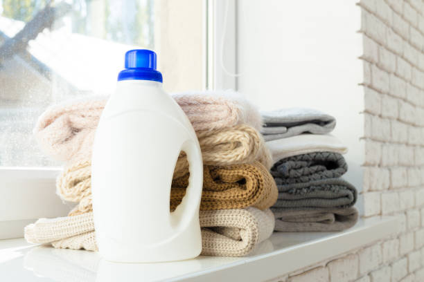pure clothes with washing-up liquid pure clothes with washing-up liquid laundry detergent stock pictures, royalty-free photos & images