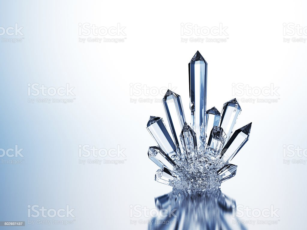 Pure Crystal stock photo