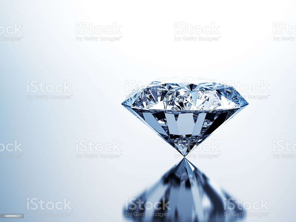 Pure Diamond Stock Photo & More Pictures of Blue | iStock