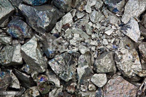 pure niobium metall background.