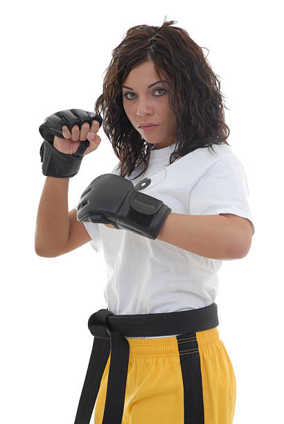 Pure fighter stock photo