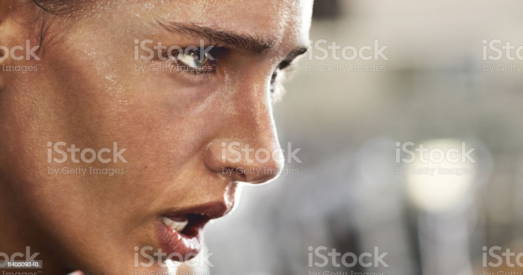 Pure focus stock photo