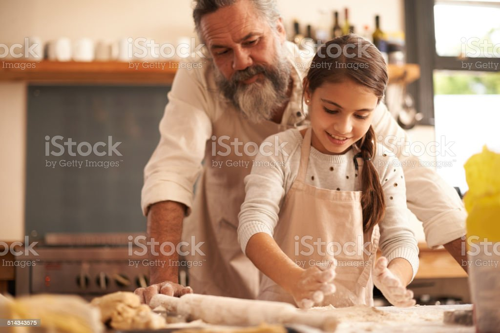 Pure kitchen delight stock photo