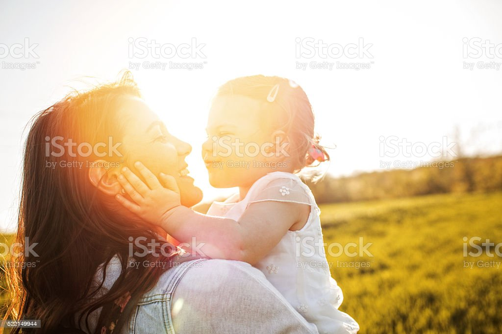 Pure love stock photo