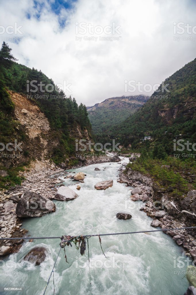 Pure mountain river zbiór zdjęć royalty-free