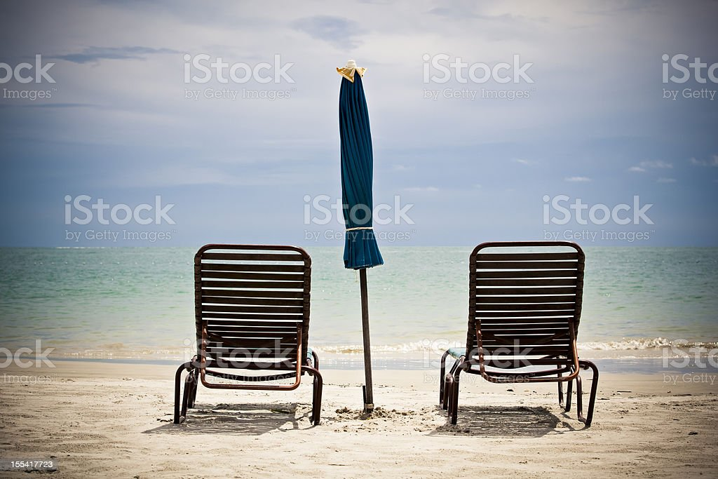 pure ocean view royalty-free stock photo