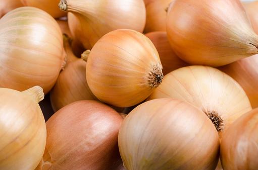 Pure organic raw onion