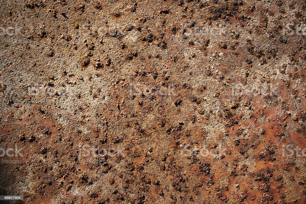 Pure rust royalty-free stock photo