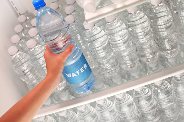 Pure Water and Conservation stock photo