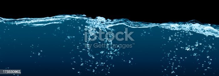 134949478 istock photo Pure water on black 173330962