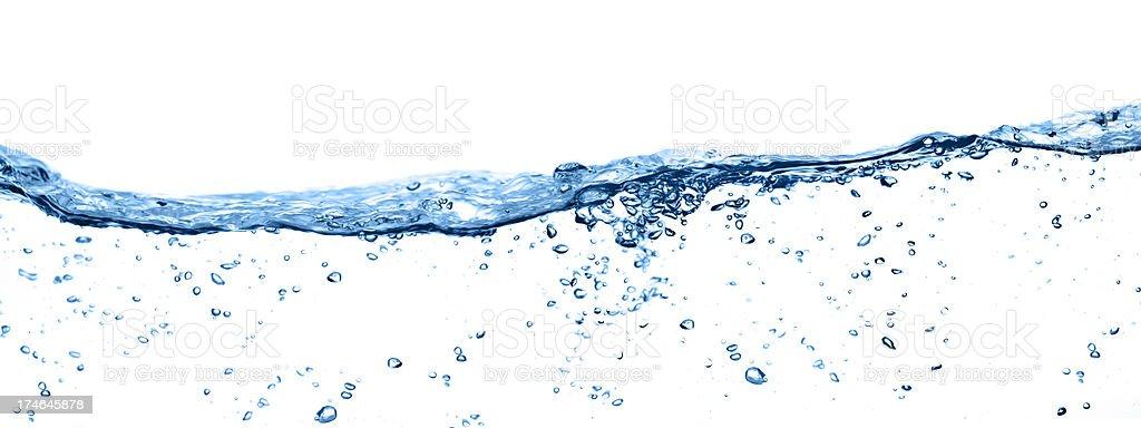 Pure Wasser - Lizenzfrei Abstrakt Stock-Foto