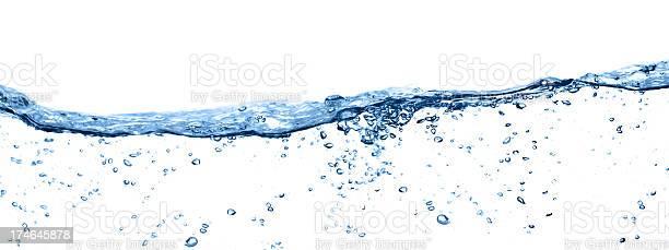 Pure Wasser Stockfoto und mehr Bilder von Abstrakt