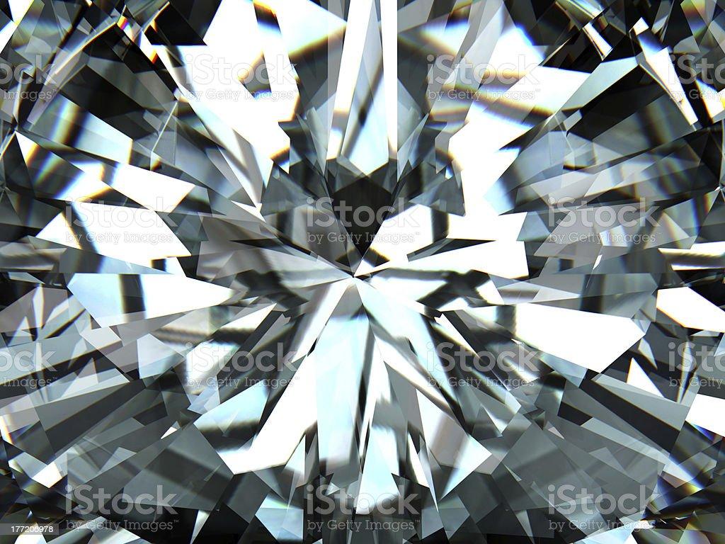 Pure white high quality diamond stock photo