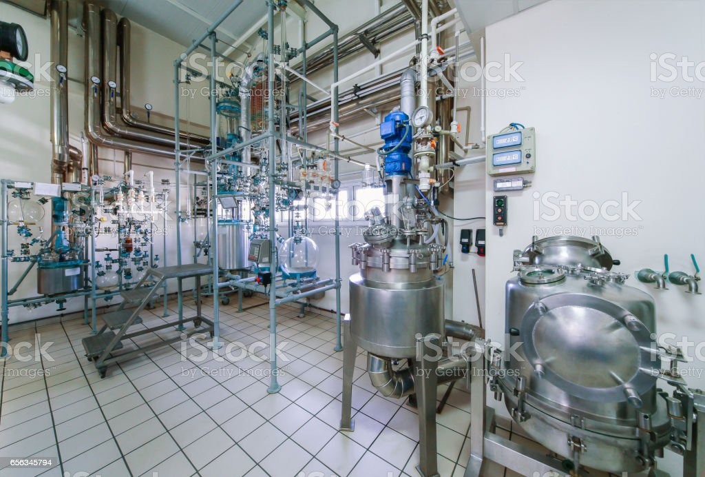 Purification room stock photo