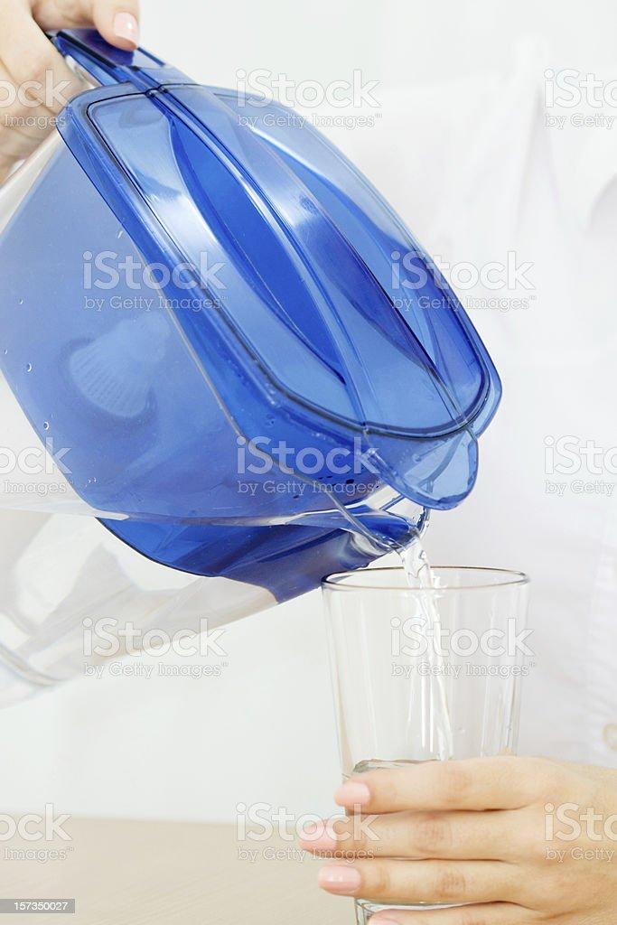 Purified Water stock photo