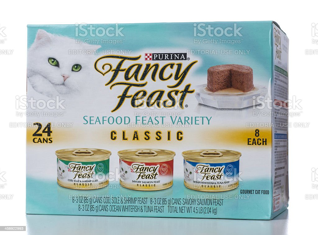 Purina Fancy Feast Seafood Variety Classic 24 cans box
