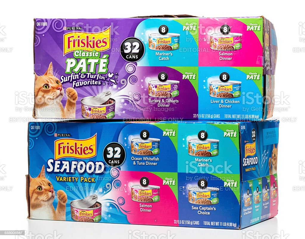 Purina Friskies Classic Pate and Seafood Variety Packs
