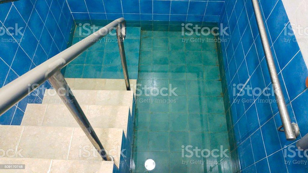 purity Mikveh stock photo