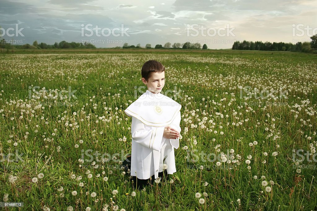 purity soul royalty-free stock photo