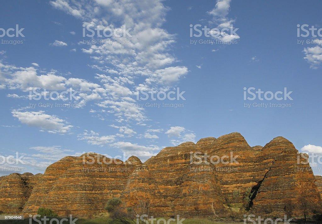 Purnululu National Park royalty-free stock photo