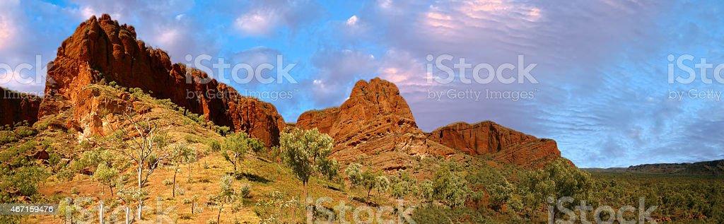 purnululu park in western australia stock photo