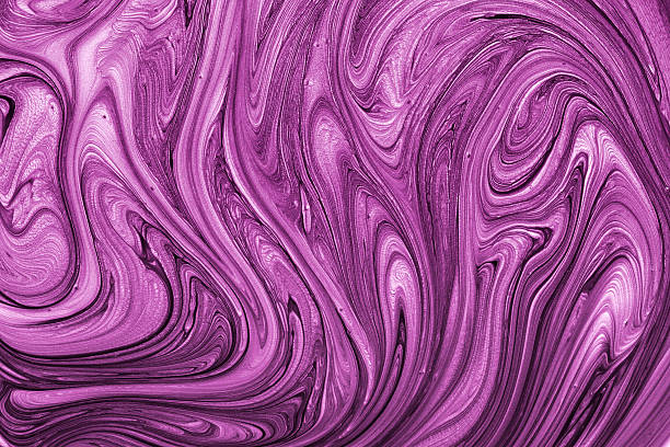 Purple abstract paint texture stock photo