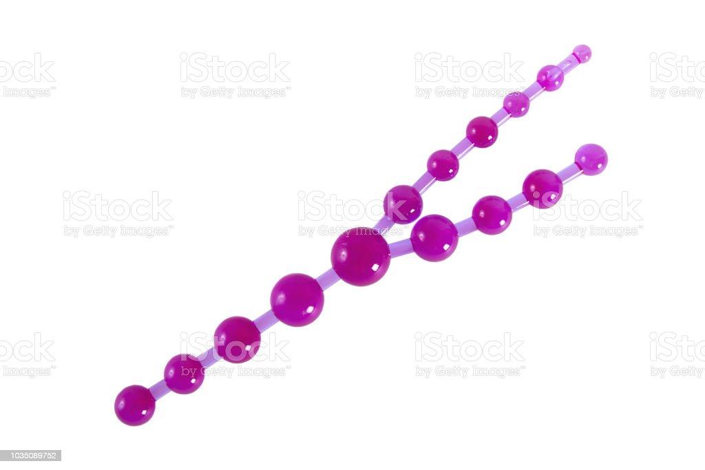 Anal bead penetration