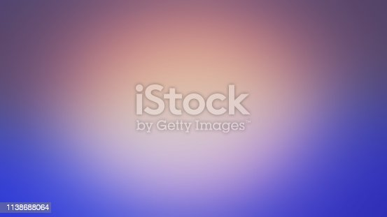 istock Purple and Blue Defocused Blurred Motion Atmospheric Abstract Background 1138688064